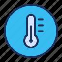 measure, temperature, thermometer, ui