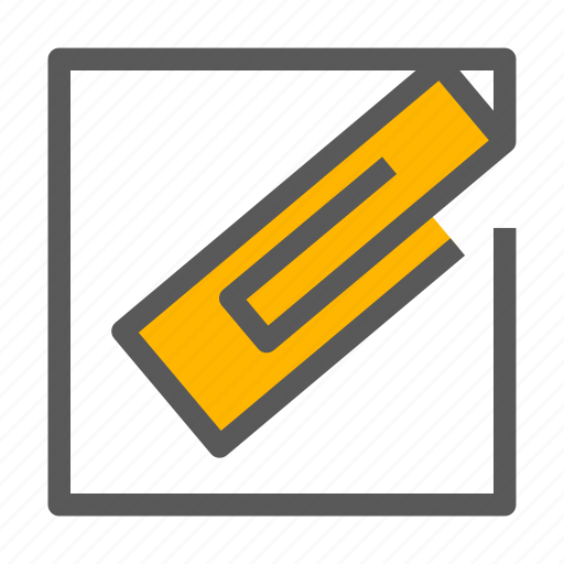 Attach, attachment, file, paperclip icon - Download on Iconfinder