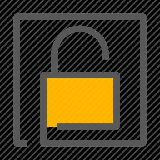 Lock, padlock, password, unlock icon - Download on Iconfinder