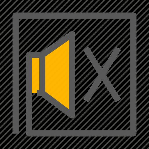 Mute, quite, silent, volume icon - Download on Iconfinder