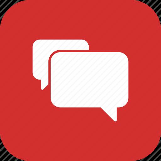 chat, conversation, element, speech, talking icon