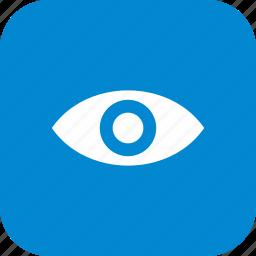 concept, eye, vision icon