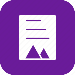 file, report, sheet, task icon