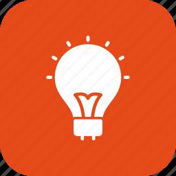 bulb, energy, idea, light bulb icon