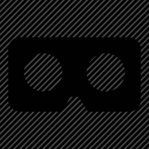 eye, glass, virtual reality, vr icon