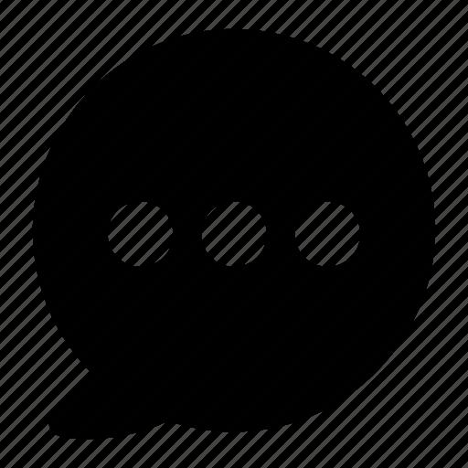 bubble, chat, communication, message, talk, text icon