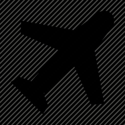 airplane, flight, holiday, travel, vacation icon