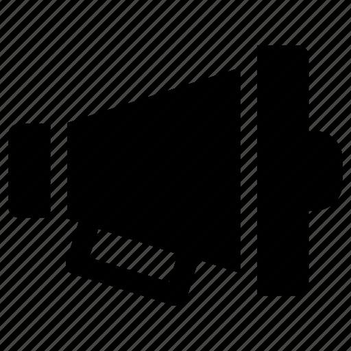announcement, megaphone, multimedia, speaker, volume icon