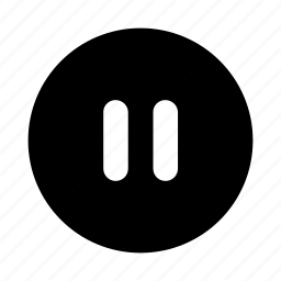 audio, music, pause, sound, stop icon