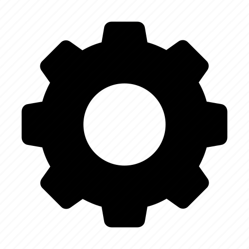 cog, cogwheel, gear, setting, settings icon