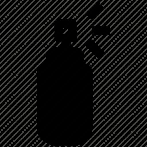 body spray, bottle, perfume, spray icon