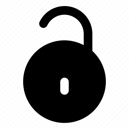 lock, password, privacy, safe, unlock icon