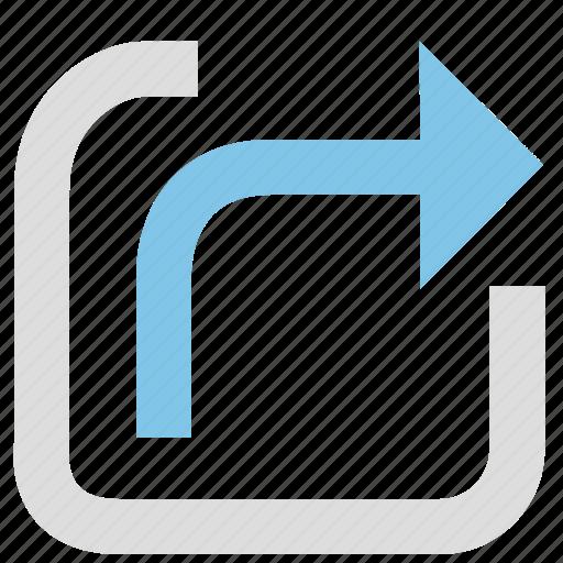 link, media, network, share, sharing, social icon