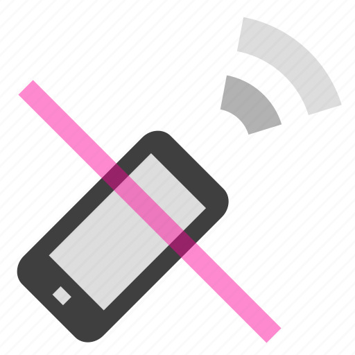 communication, connection, mobile, phone, screen, signal icon