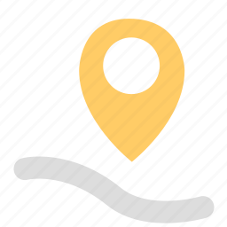 location, position, share icon