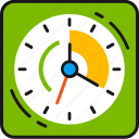 alarm, clock, date, deadline, planning, schedule, time icon