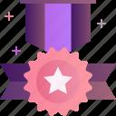 award, achievement, badge, medal, prize, reward, star