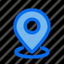 gps, map, pin, direction