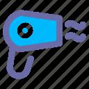 basic, user, interface, hairdryer