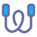 basic, user, interface, jumprope