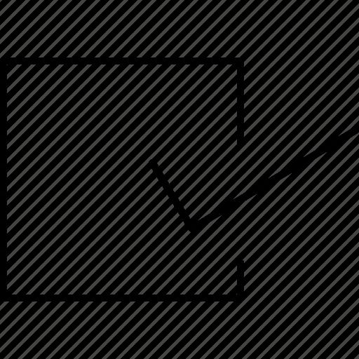 checkbox, checkmark, correct, edit, mark icon