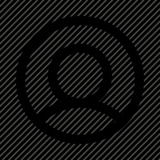 admin, customer, human, man, people, person, user icon