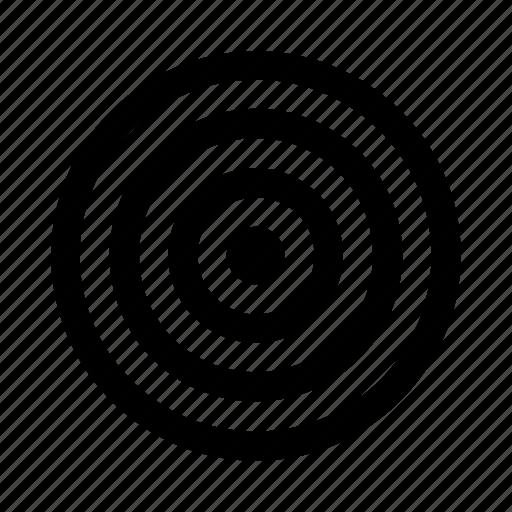 achivement, aim, focus, goal, intent, mission, target icon