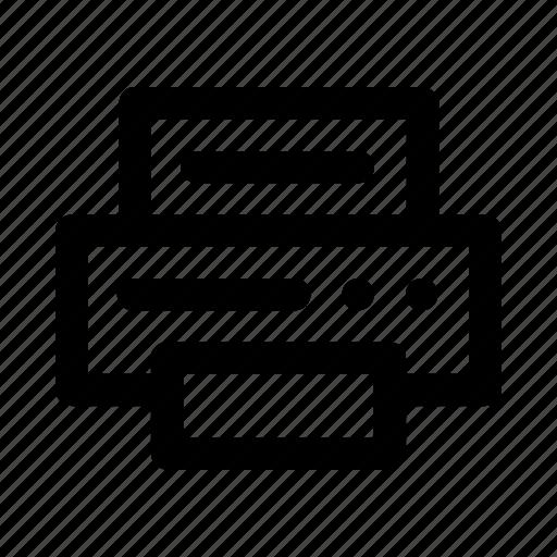 compositer, print, printer, publisher, scan, scanner, typographer icon