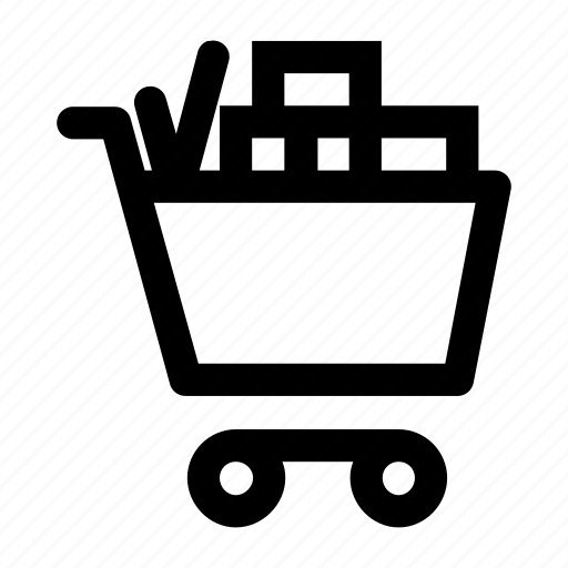 cart, filp, goods, grossary, product, trolly icon