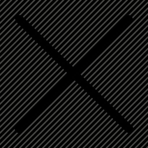 cancel, close, cut, delete, destroy, remove, wrong icon
