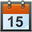64, calendar icon