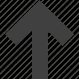 arrow, arrows, direction, navigation, ui, up, upload icon