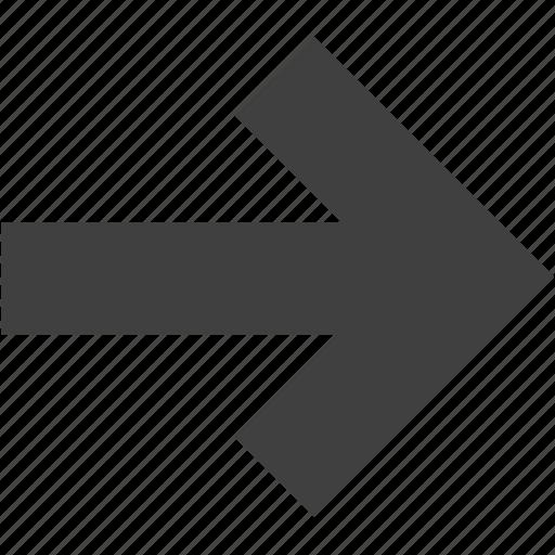 arrow, arrows, direction, next, right, ui icon