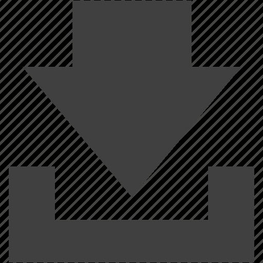 arrow, down, downarrow, download, downloads, move, ui icon