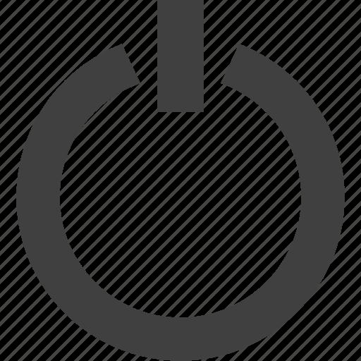 down, power, shut, switch, ui icon