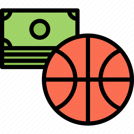 ball, basketball, bet, bookmaker, money, player, sport icon