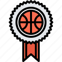 award, badge, ball, basketball, pin, player, sport