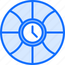 ball, basketball, clock, player, sport, time icon