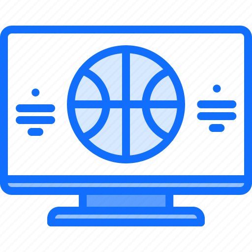 ball, basketball, player, sport, streaming, television, tv icon