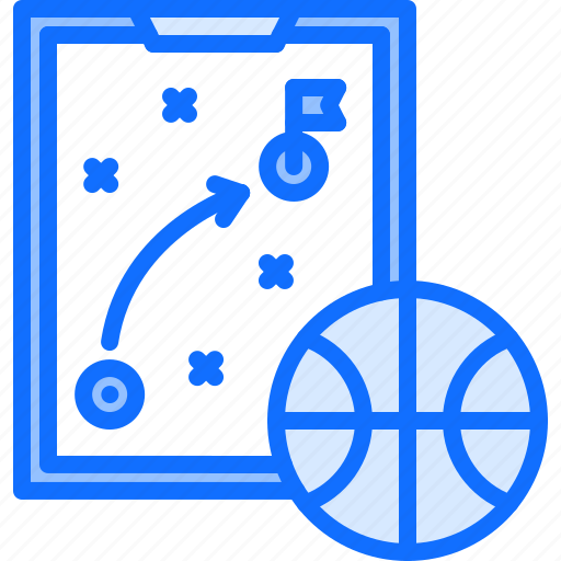 ball, basketball, diagram, player, sport, strategy, tablet icon
