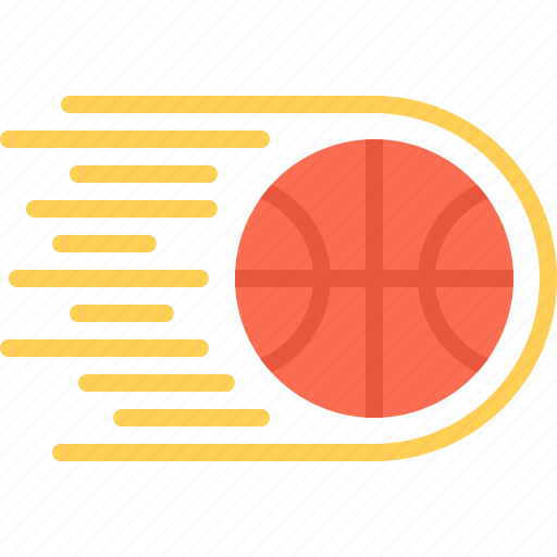 ball, basketball, fire, player, speed, sport icon