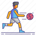 assist, team, basketball icon