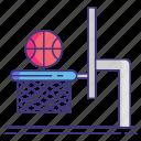 rimshot, ring, basketball, hoop
