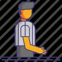 three, rule, violation, seconds icon