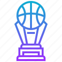 award, ball, basketball, sport, trophy icon