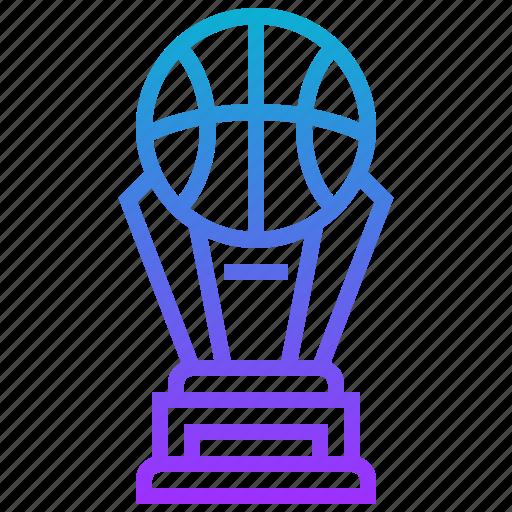 award, ball, basketball, sport, trophy icon
