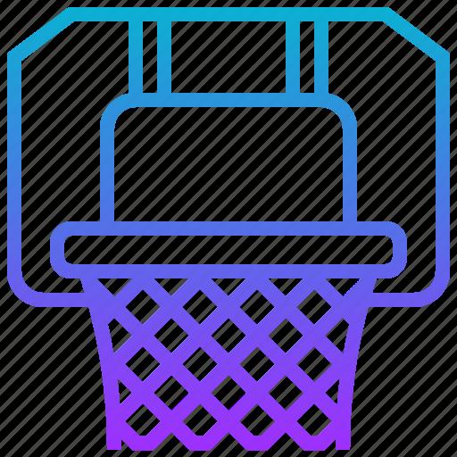 basketball, hoop, net, sport icon