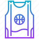 basketball, shirt, sport, uniform icon