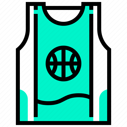 basketball, shirt, sport, uniform icon
