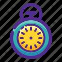 ball, basket, flat, icon, sport, stopwatch icon